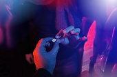teenager buying drug at club during spring break party