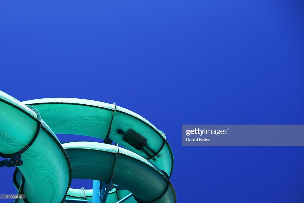A teenager cools off on a waterslide during a heat wave at Glenelg on January 13, 2014 in Adelaide, Australia. Temperatures are expected to be over 40 degrees celsius all week with health authorities warning the young and elderly to remain indoors.