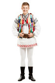 Teenager in Traditional Costume