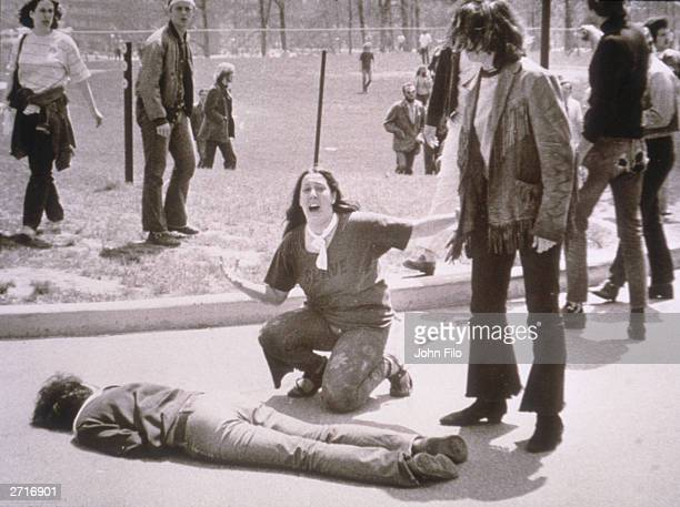 Image result for kent state massacre getty images