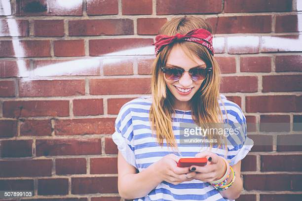Teenager On Phone