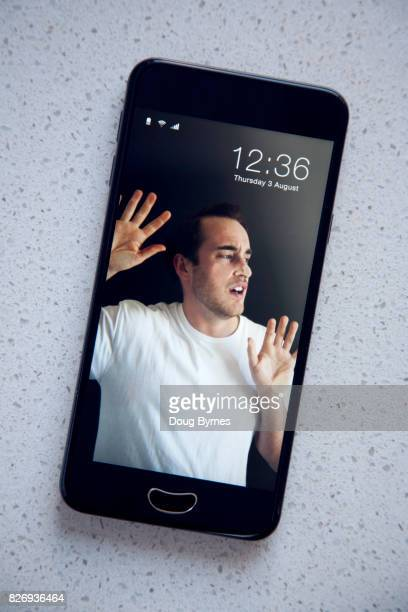Teenager trapped by phone