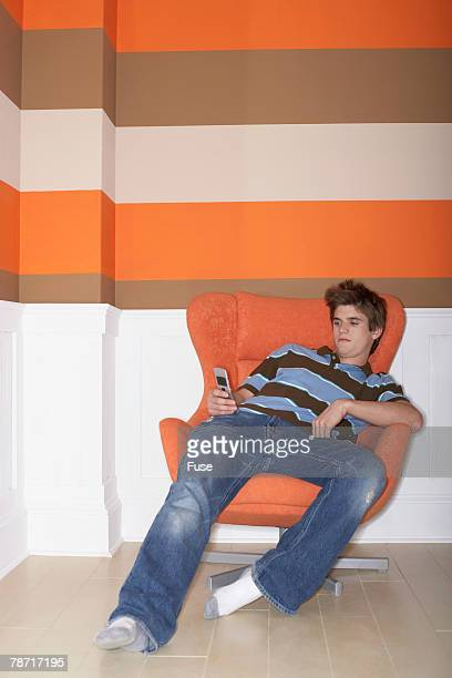 Teenager with Cell Phone