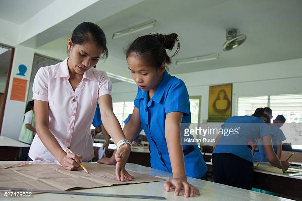 Teenagers both girls and boys learn the trade of tailoring Many of the local teenagers dream of going to Manila or other big cities and vocational...