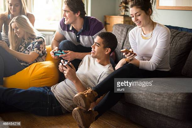 teenagers in the house