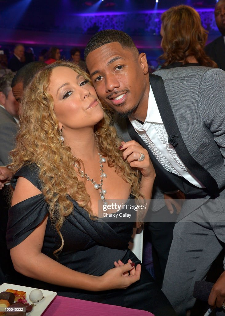 TeenNick Chairman and HALO Awards host Nick Cannon and singer Mariah Carey attend Nickelodeon's 2012 TeenNick HALO Awards at Hollywood Palladium on November 17, 2012 in Hollywood, California. The show premieres on Monday, November 19th, 8:00p.m. (ET) on Nick at Nite.