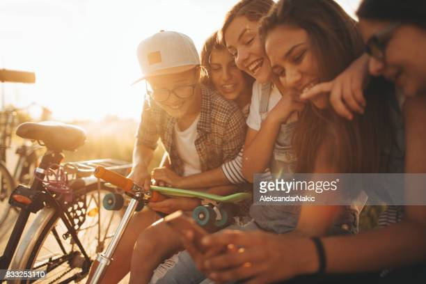Teens and social networking