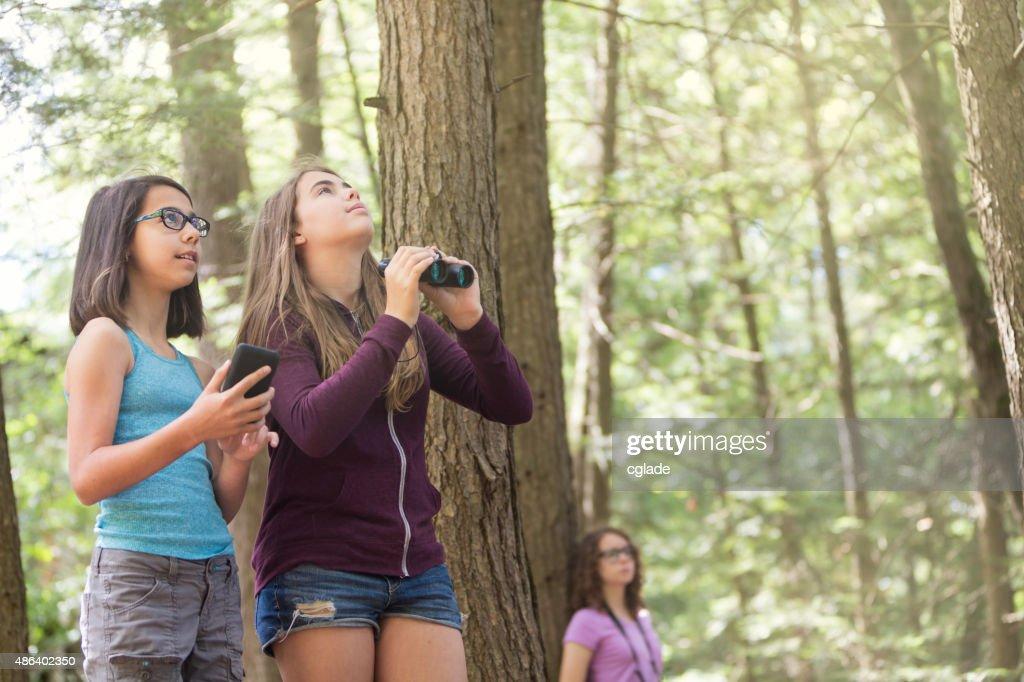 Teens And Tween Girls Exploring Nature Stock Photo Getty Images - Pictures of tween girls