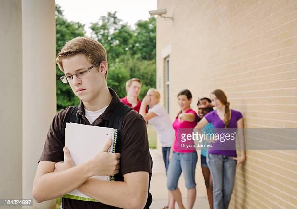 Teens Bullying the Nerd Horizontal