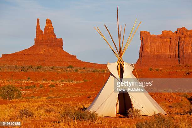 Teepee at Monument Valley