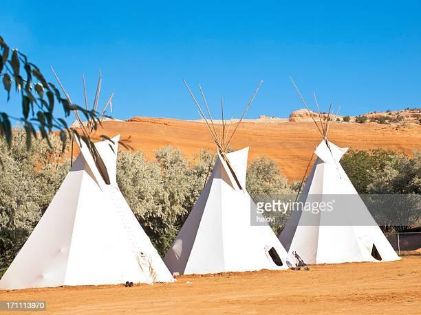 Indianerzelt authentische Native North American