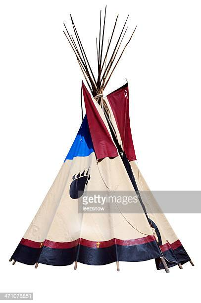 Teepee Isolated on White