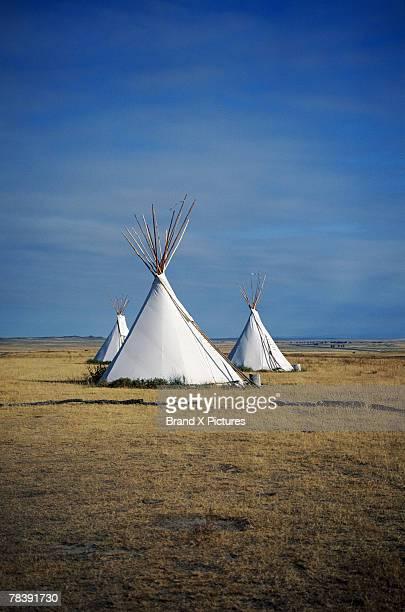 Teepees, North Dakota