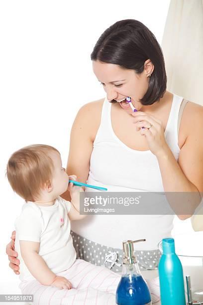 Bürsten Zähne