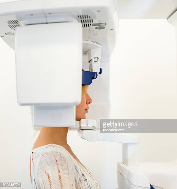 teeth scan at the dentist