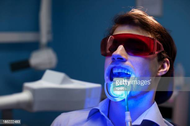 Teeth Whitening Dental Medical Process