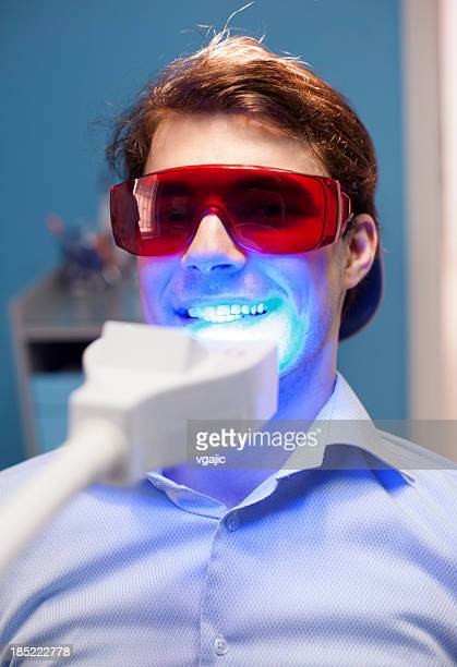Teeth Whitening Dental Medical Process