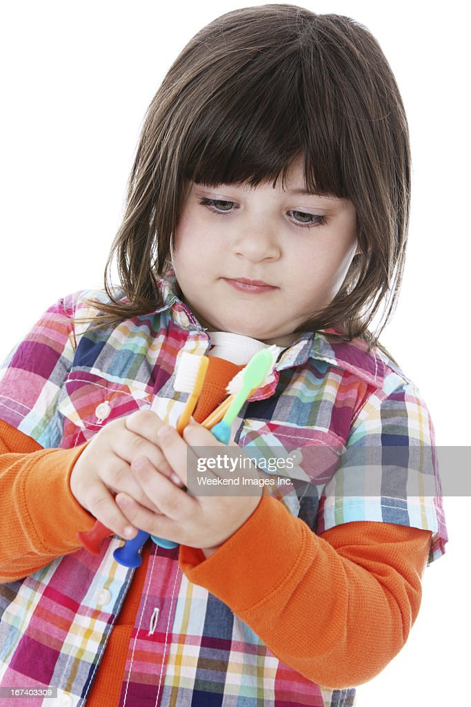 Teething Timeline : Stock Photo