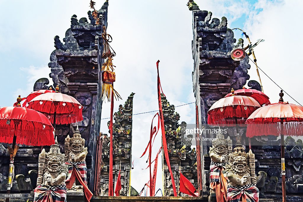 Tegalagang Temple, Ubud, Bali : Stock Photo