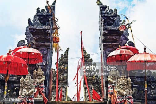 Tegalagang Temple, Ubud, Bali : Stock-Foto