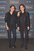 Tegan and Sara perform in Toronto as part of the 2016 Hilton Concert Series for Hilton HHonors members and fans The concert which took place at...
