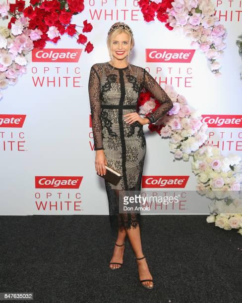 Tegan Martin attends Colgate Optic White Stakes Day at Royal Randwick Racecourse on September 16 2017 in Sydney Australia