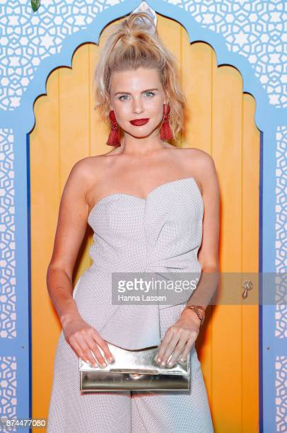 Tegan Martin attends the Bombay Sapphire Project Botanicals Launch on November 15 2017 in Sydney Australia