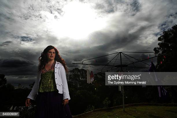 Tegan Wagner a survivor of a gang rape when she was 14 at her Sydney home 20 July 2006 SMH Picture by SAHLAN HAYES
