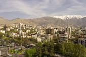 Teheran City aerial