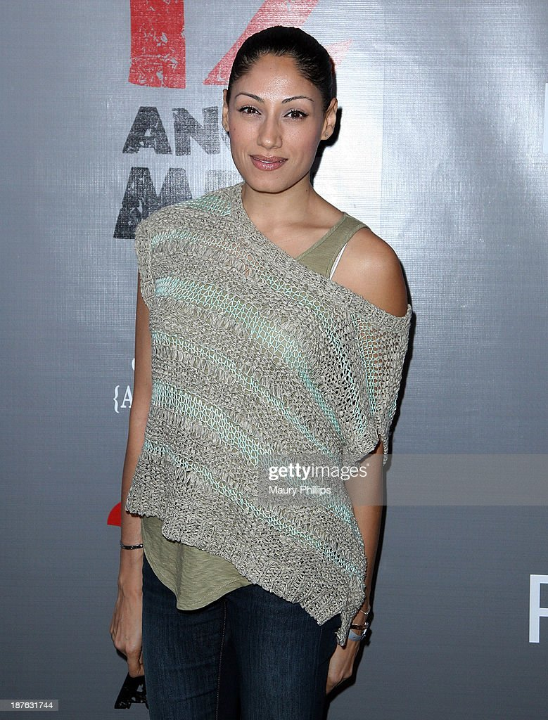 Tehmina Sunny attends '12 Angry Men' at the Pasadena Playhouse on November 10, 2013 in Pasadena, California.