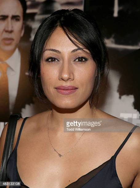 Tehmina Sunny attends Alchemy's Los Angeles Premiere Of 'The Runner' at TCL Chinese 6 Theatres on August 5 2015 in Hollywood California