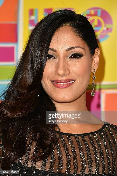 Tehmina Sunny attends HBO's Official 2014 Emmy After Party at The Plaza at the Pacific Design Center on August 25 2014 in Los Angeles California