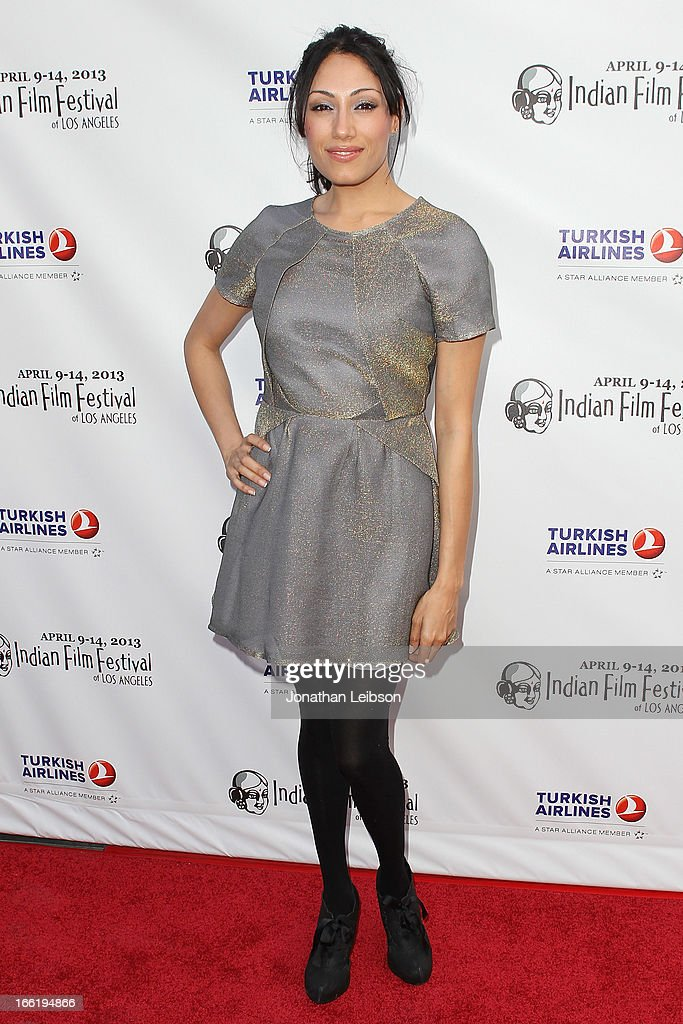 Tehmina Sunny attends the 11th Annual Indian Film Festival Of Los Angeles - Opening Night Gala for 'Gangs Of Wasseypur' at ArcLight Hollywood on April 9, 2013 in Hollywood, California.