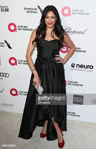 Tehmina Sunny attends the 23rd Annual Elton John AIDS Foundation Academy Awards Viewing Party on February 22 2015 in West Hollywood California