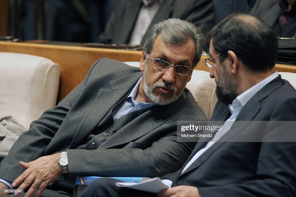 Tehran July 2011 during the Investment Conference The former CEO of Iranian Melli Bank MahmoudReza Khavari escaped to Canada after an embezzlement...