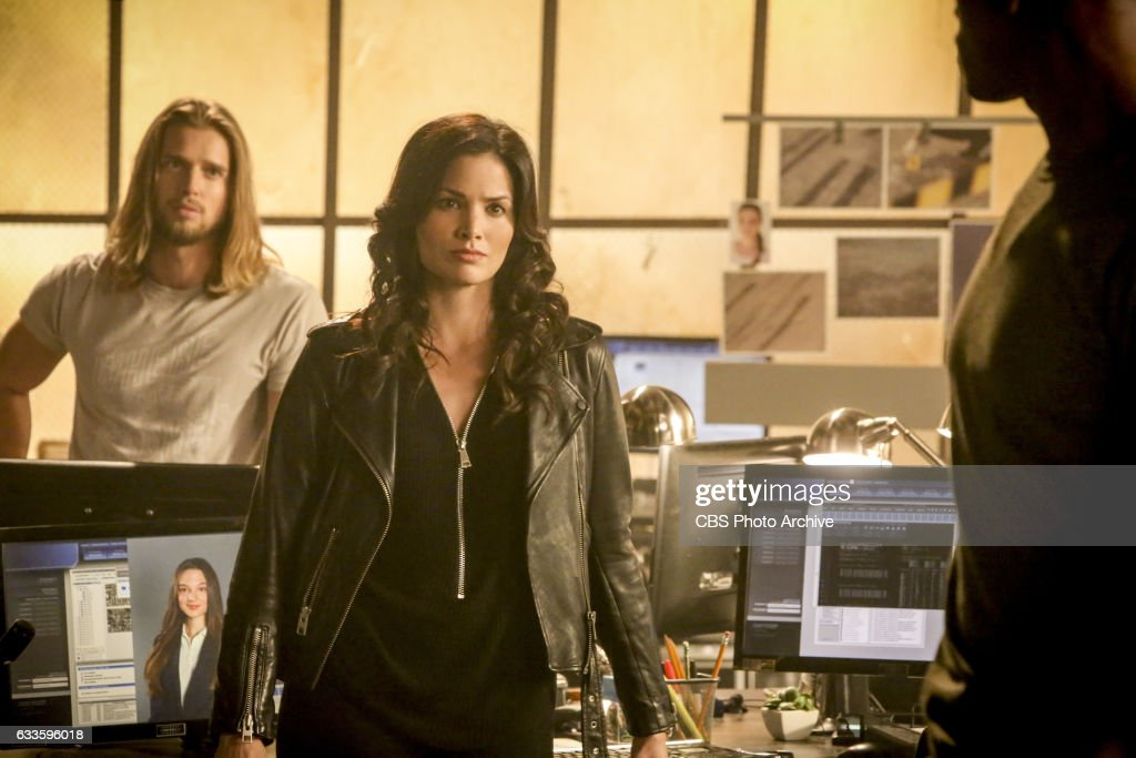 'Tehrangeles' -- Pictured: Dew Van Acker as Tommy Campbell, Katrina Law as Rebecca Lee and Justin Cornwell as Kyle Craig. Kyle grows concerned that Frank's rogue tactics will put a kidnapped girl's life at even greater risk after a former member of Muammar Gaddafi's Amazonian Guard becomes involved in the deal and ups the stakes for the girl's return, on TRAINING DAY, Thursday, Feb. 9 (10:00-11:00 PM, ET/PT) on the CBS Television Network.
