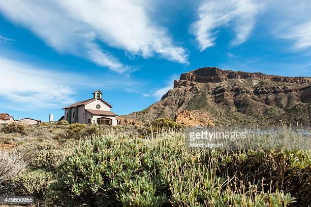 Teide National Park, view of Teide Volcano