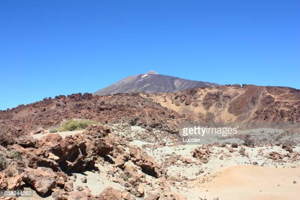 Teide peak in Tenerife, Spain