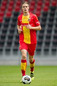 Teije ten Den during the team presentation of Go Ahead Eagles on July 15 2016 at the Adelaarshorst Stadium in Deventer The Netherlands