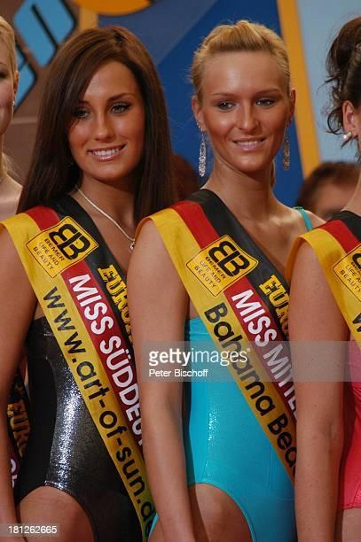 Teilnehmerinnen der 'Miss Germany'Wahl 2005 Angelika Stern Claudia Königshaus Las Palmas de Gran Canaria/Kanarische Inseln/Spanien