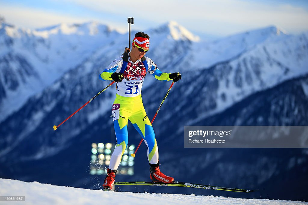 <a gi-track='captionPersonalityLinkClicked' href=/galleries/search?phrase=Teja+Gregorin&family=editorial&specificpeople=876933 ng-click='$event.stopPropagation()'>Teja Gregorin</a> of Slovenia competes in the Women's 15 km Individual during day seven of the Sochi 2014 Winter Olympics at Laura Cross-country Ski & Biathlon Center on February 14, 2014 in Sochi, Russia.