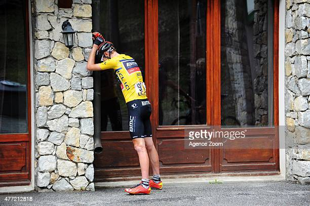 Tejay Van Garderen of team BMC RACING TEAM competes during Stage Eight of the Criterium du Dauphine on Sunday 14 June 2015 Saint Gervais Mont Blanc...