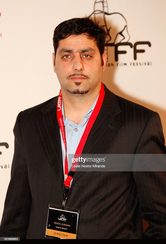 Tekin Girgin attends The 2nd Annual Los Angeles Turkish Film Festival Opening at the Egyptian Theatre on February 28, 2013 in Hollywood, California.