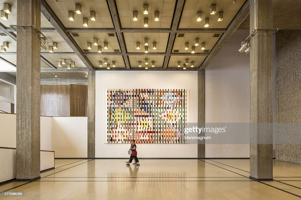 Tel Aviv Museum of Art, the interior