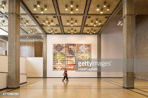 Tel Aviv Museum of Art, the interior