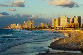 Tel Aviv skyline from Summit Park, Israel