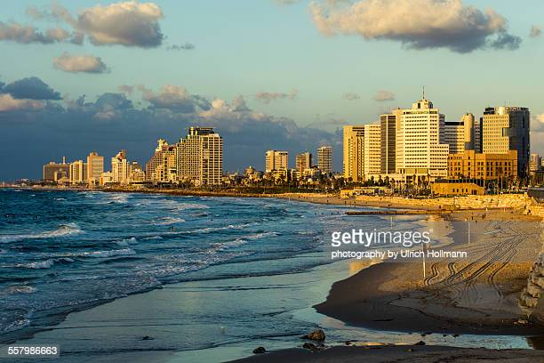 Tel Aviv skyline from Summit Park, Israel