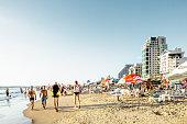 Tel Aviv, view of Jerusalem beach
