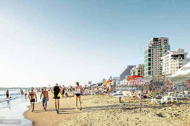 Tel Aviv, view of Jerusalem beach