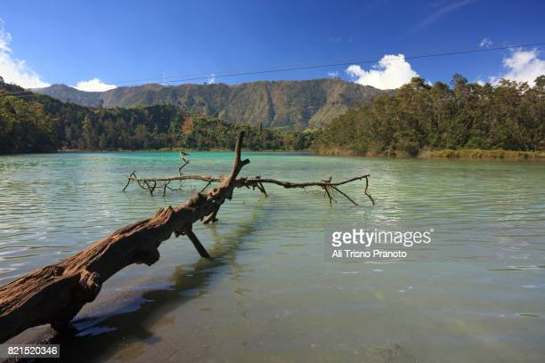 Telaga Warna, Dieng Plateau, Central Java, Indonesia